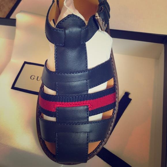 7774708f7 Gucci Shoes   Bnib Boys Sandals Blue Size 31   Poshmark